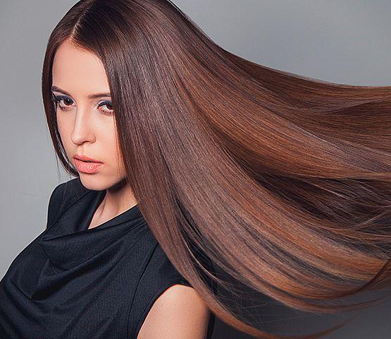Haare glatten naturprodukte